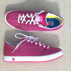 K Swiss magenta color sneakers size 9 for sale